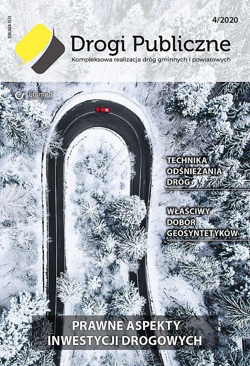 Drogi Publiczne wydanie nr 4/2020